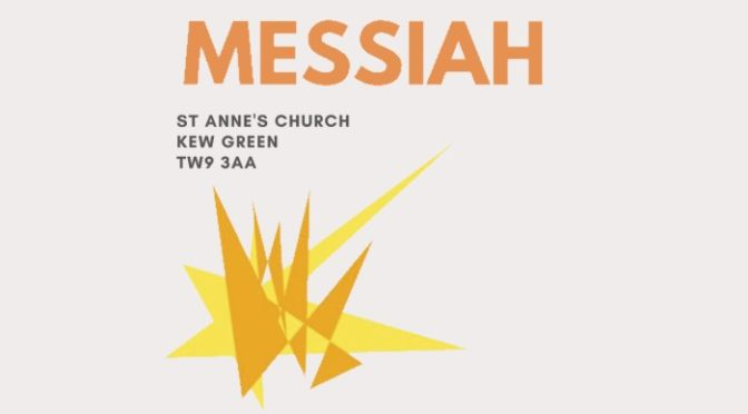 Christmas Messiah at St Anne's, Kew