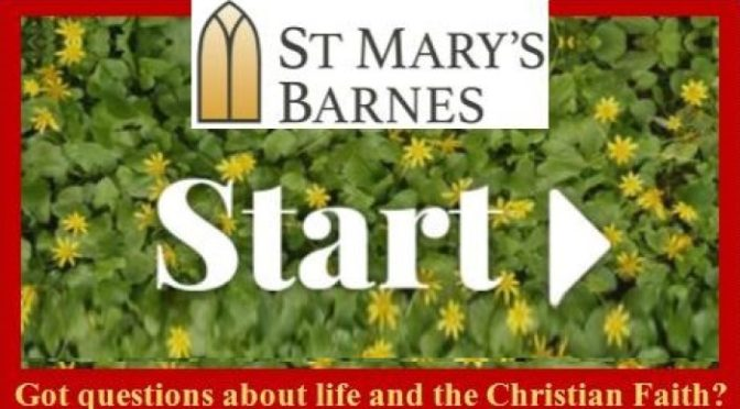 START Course at St Mary, Barnes