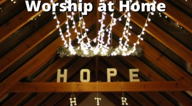 Worship, Encouragement and Prayer from Holy Trinity Richmond