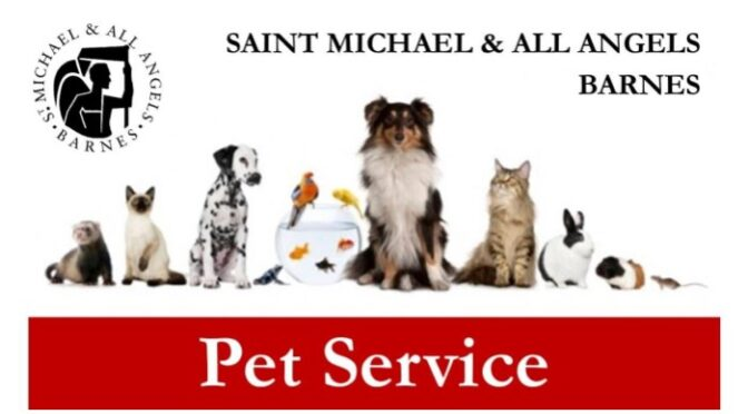 Pet Service at St Michael and All Angels, Barnes