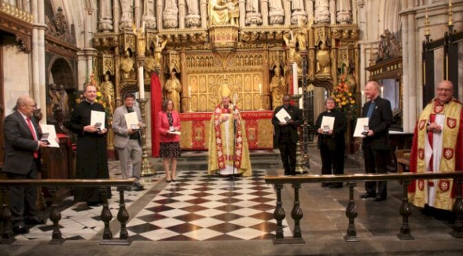 Ruth Martin Awarded Lancelot Andrewes Medal