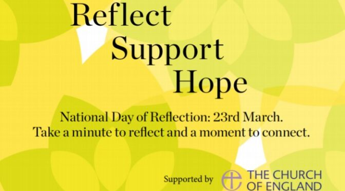 National Day of Reflection 23 March