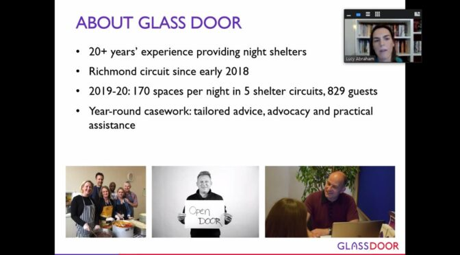 OPEN MEETING WITH LUCY ABRAHAM FROM GLASS DOOR