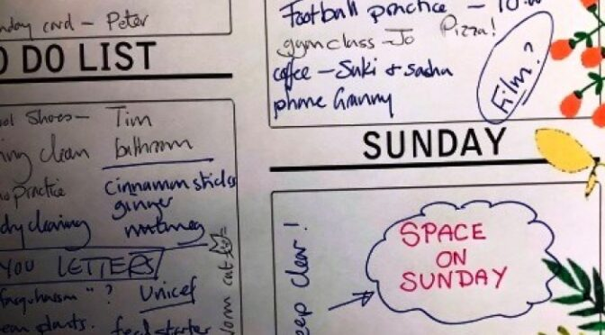 Space on Sunday for Young Families